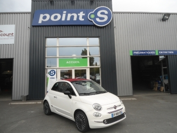 <strong>FIAT 500C</strong><br/>1.2 8V 69 ch Club