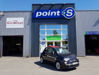 <strong>FIAT 500C</strong><br/>1.2 8V 69 ch Lounge