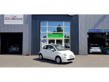 <strong>FIAT 500 NEW</strong><br/>1.2 69 ch lounge GPS