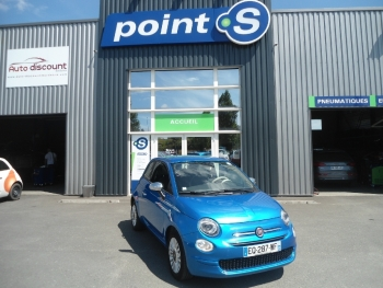<strong>FIAT 500 NEW</strong><br/>1.2 69 Mirror 2017 Régul vitesse