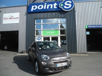 <strong>FIAT 500X</strong><br/>1.6 Mjtd 120 ch Lounge Toit Ouvrant