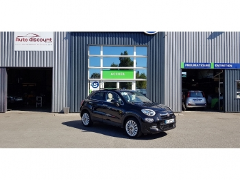 <strong>FIAT 500X</strong><br/>1.6 MultiJet 120 ch Lounge Toit ouvrant