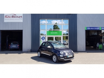 <strong>FIAT 500 NEW</strong><br/>1.2 Rosso Amore Toit Ouvrant/Régul vit