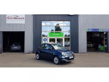 <strong>FIAT 500C NEW</strong><br/>1.2 69 ch Lounge Régul vitesse