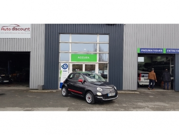 <strong>FIAT 500 NEW</strong><br/>1.2  Rosso Amore T.Ouvrant