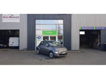 <strong>FIAT 500 NEW</strong><br/>1.2 69  STAR Toit Pano 17000 kms