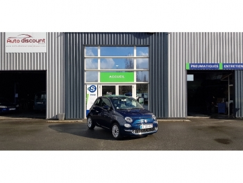 <strong>FIAT 500 NEW</strong><br/>1.2 69 Lounge Clim auto