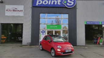<strong>FIAT 500C </strong><br/>1.2 69 ch Lounge