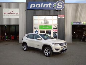 <strong>JEEP COMPASS</strong><br/>2.0 I MultiJet II 140 ch Active Drive BVM6 Limited